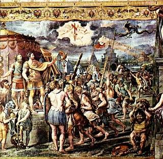 Aparicao da Cruz a Constantino