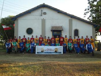 O acampamento é um projeto conjunto entre a ADF e a e a Ação Jovem Pela Terra de Santa Cruz