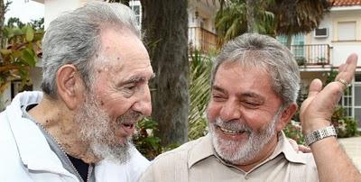 Lula e ditador Fidel Castro, Havana