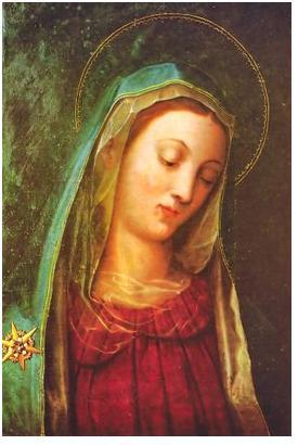 Resultado de imagem para virgem santíssima