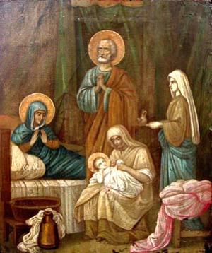 Natividade de Nossa Senhora.
