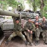 Milicianos a serviço da Russia