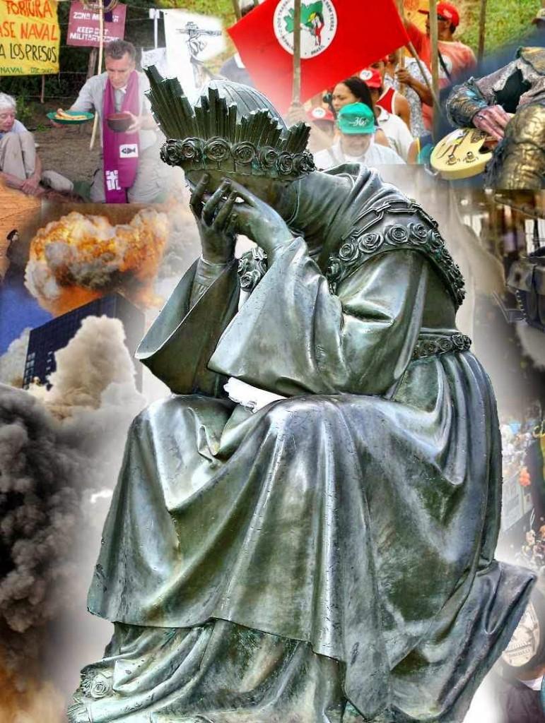 Nossa Senhora de La Salette chora por causa da revolução do mundo