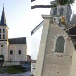 Demolição da Igreja de Saint Jacques em Abbeville