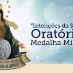 Intenções da semana do Oratório da Medalha Milagrosa