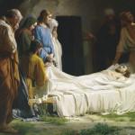 Jesus é posto em seu Sepulcro