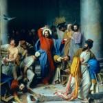 Nosso Senhor expulsa os vendilhões à chicotadas