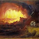 Destruição de Sodoma e Gomorra, John Martin, 1852