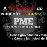 """A """"tolerância"""" do movimento homossexual"""