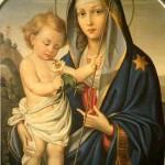 A Santíssima Virgem Maria é o Paraíso terrestre do novo Adão, Nosso Senhor Jesus Cristo.