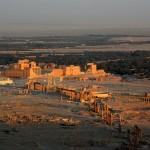Palmira, cidade histórica semita no centro da Síria, alvo do Estado Islâmico.
