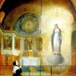 Aparição de Nossa Senhora das Graças a Santa Catarina Labouré.