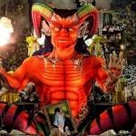 Invocação ao demônio no carnaval