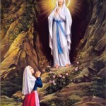 Nossa Senhora de Lourdes.