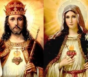 Sagrados Corações de Nosso Senhor e de Nossa Senhora.