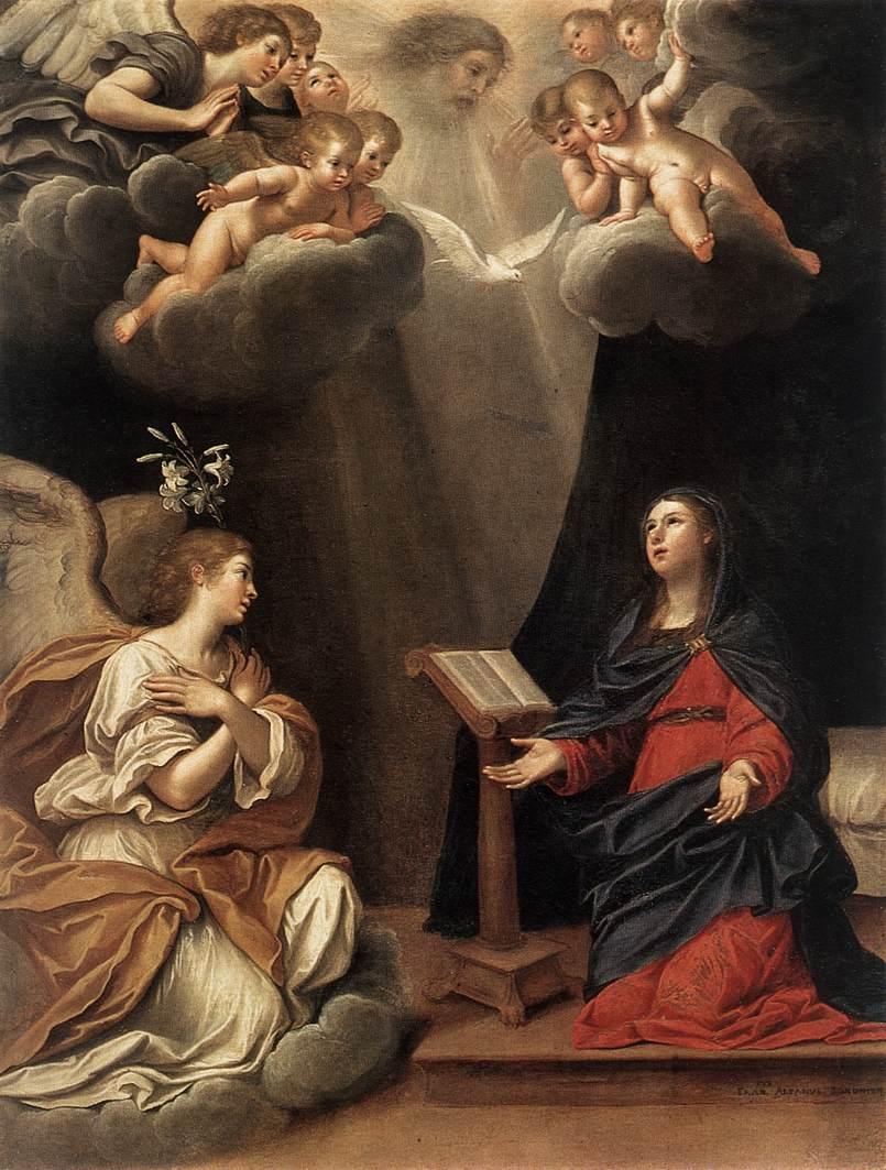 Saudação angélica feita à Nossa Senhora!
