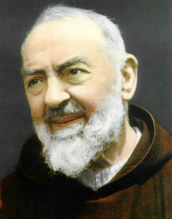 São Padre Pio explica à Santíssima Trindade