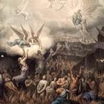 Os Anjos com as Almas do Purgatório