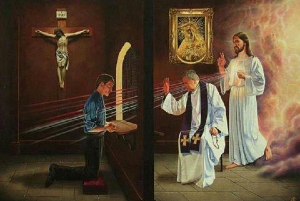 A confissão é algo essencial para a vida espiritual.