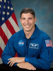 O astronauta americano Michael S. Hopkins