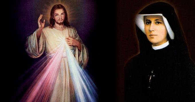 Nosso Senhor Misericordioso e Santa Faustina