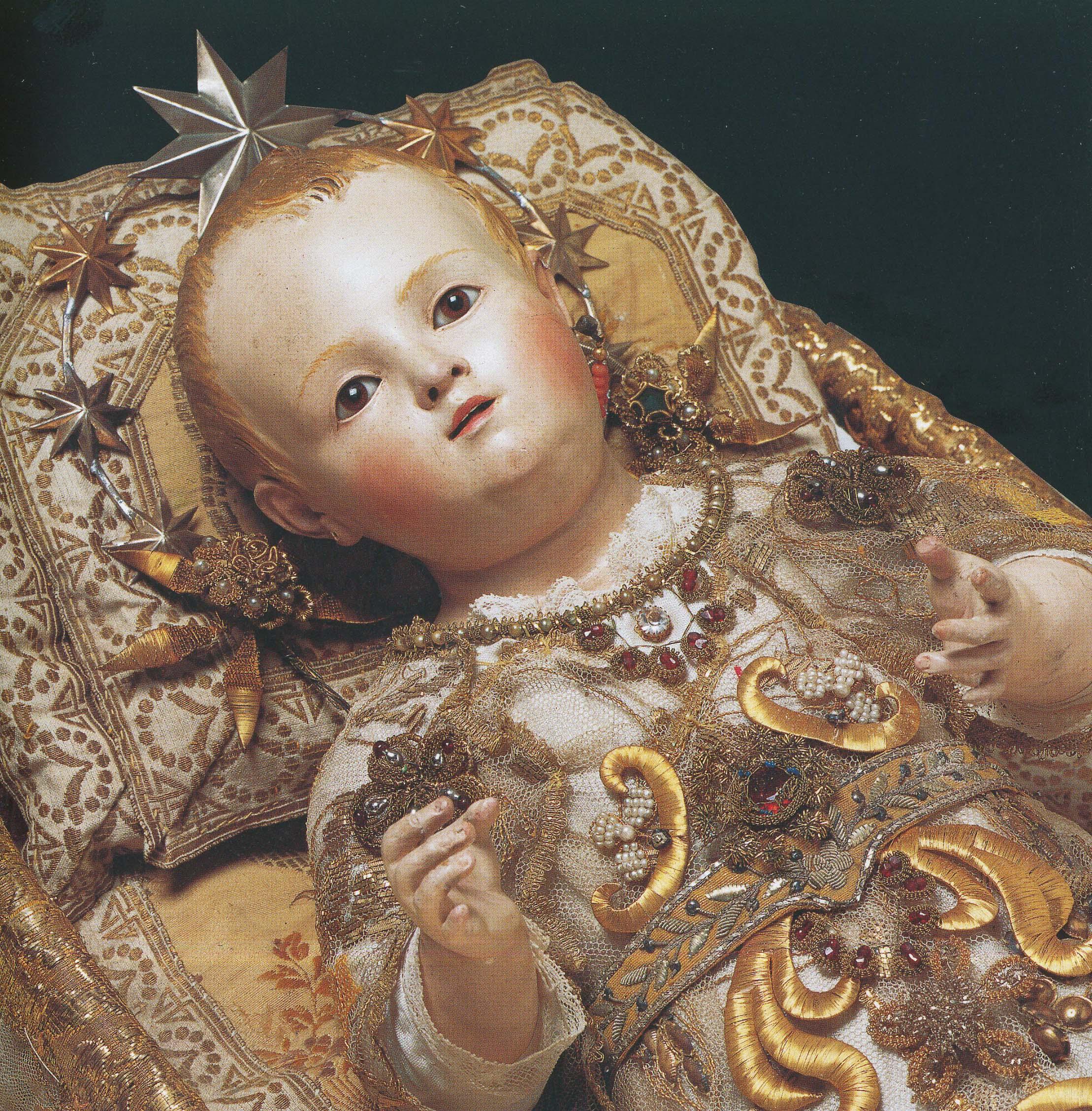 Imagem de Nossa Senhora bambina.