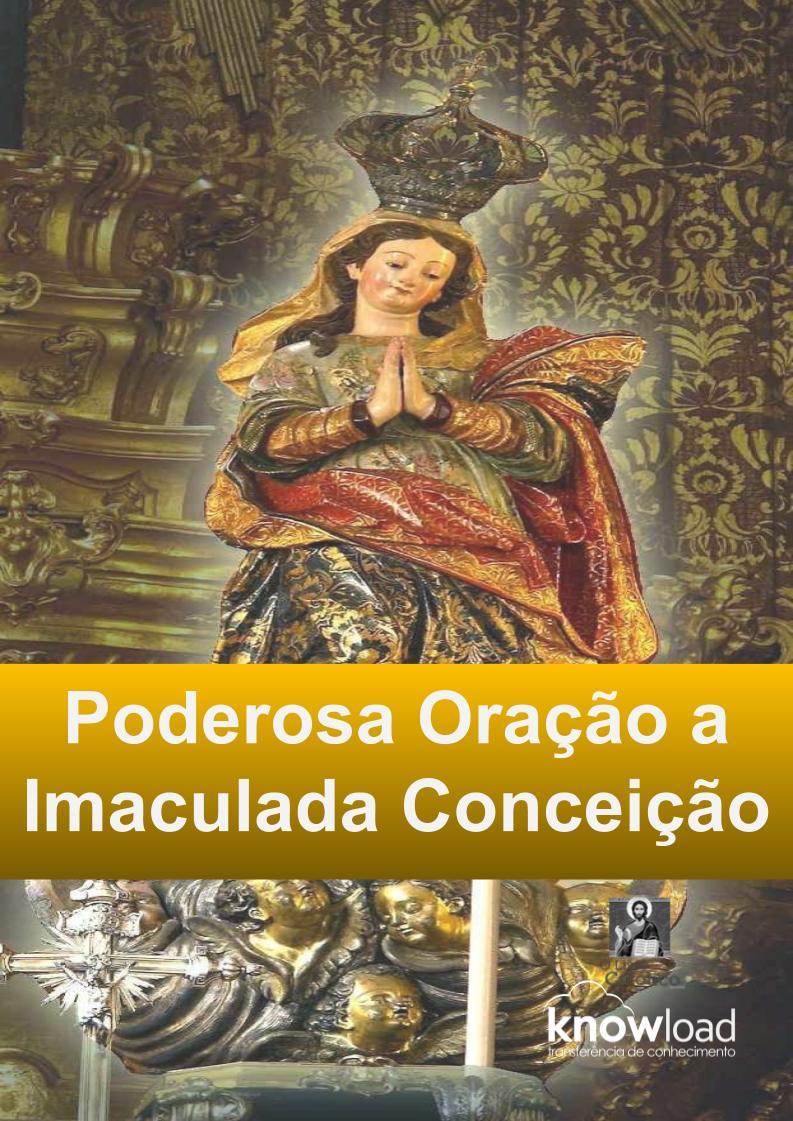 Oração Imaculada Conceição - Clique Aqui!