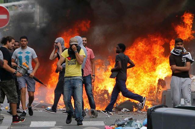 A violência em Paris