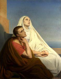 Santa Monica e seu filho Santo Agostinho