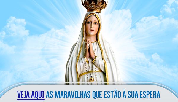 Botão - Apóstolos de Fátima no texto Novena a Nossa Senhora de Fátima – 5º Dia