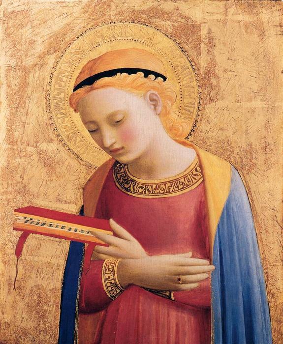 Virgem Maria - por Fra Angelico