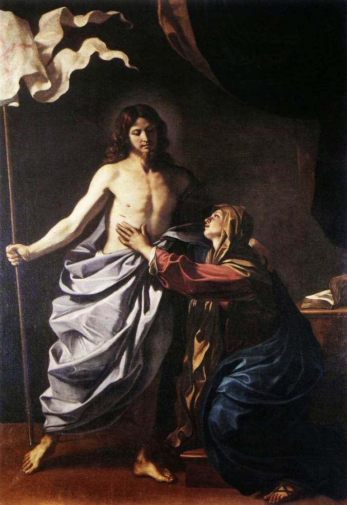 Jesus Ressuscita Aparece a Virgem Maria