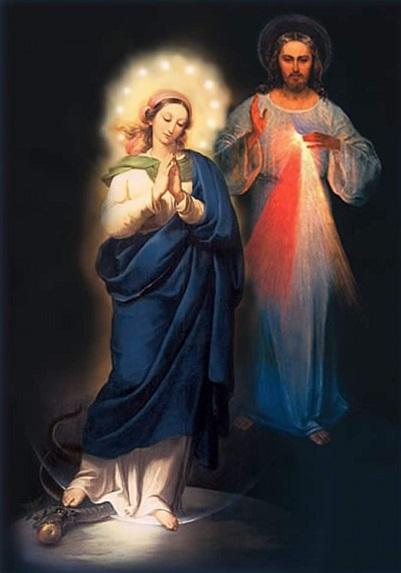 Maria e a Divina Misericórdia