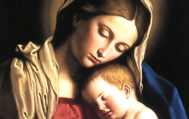 Nossa Senhora e o Menino Jesus - Imagem Destacada