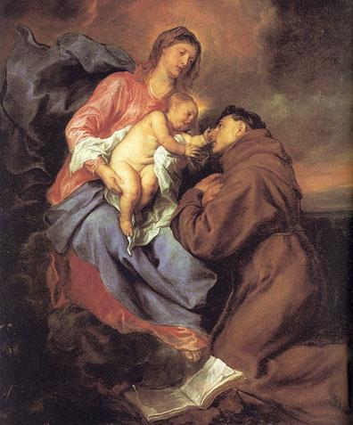 Santo Antônio Nossa Senhora e o Menino Jesus