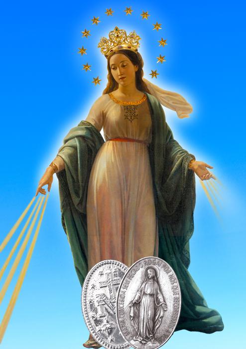 Imagem - Nossa Senhora das Graças_Medalha Milagrosa