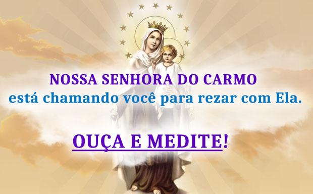 Oração à Nossa Senhora do Carmo