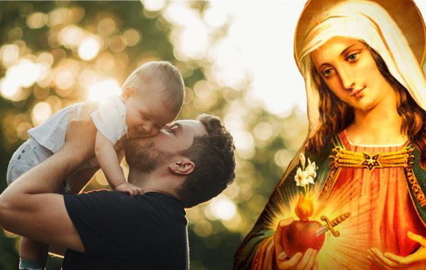 Nossa Senhora - Pai e Filho