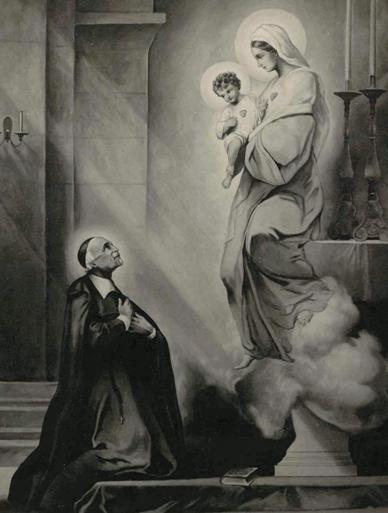 São João Eudes e Nossa Senhora