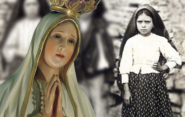 Nossa Senhora e Jacinta
