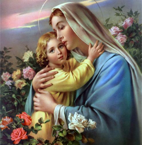 Virgem Maria e o Menino Jesus 5