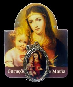 Medalha do Imaculado Coração de Maria e do Menino Jesus