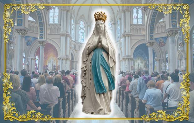 Nossa Senhora de Lourdes 8
