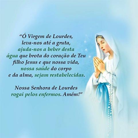 Nossa Senhora de Lourdes - Mensagem 1