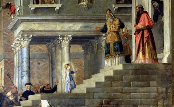 Apresentação de Nossa Senhora no Templo 2