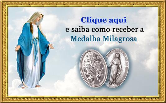 Botão - Medalha Milagrosa de Nossa Senhora das Graças
