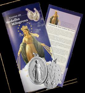 Novena + Medalha Milagrosa