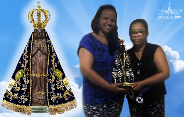 Ivani e Mãe - Nossa Senhora Aparecida 2