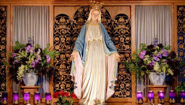 Imagem de Nossa Senhora das Graças no texto - Oração para pedir proteção contra o Coronavírus e todos os males