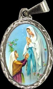 Coronavírus: Oração a Maria em Tempos de Provação - Medalha de Nossa Senhora de Lourdes